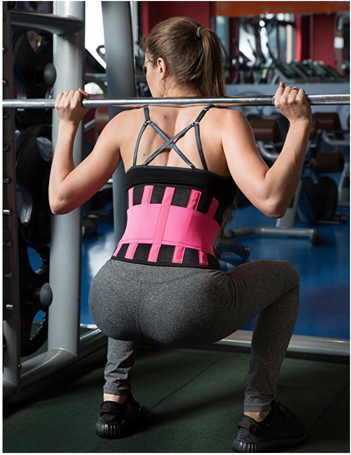 Waist Cincher Underbust Control Corset Waist Trainer For Weight Loss Sport Workout Body Shaper Tummy Fat Burner Y123