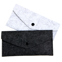 A4 Wool Felt File Folder File Bags Chemical Durable Paper Document bag Korea stationery School Office