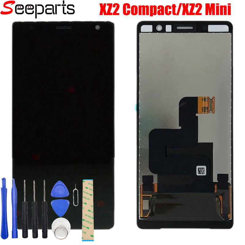 100% Tested 5.0 For Sony Xperia XZ2 Compact LCD Display Touch Screen Digitizer Assembly Replacement For Sony XZ2 Mini LCD     100% Tested 5.0 For Sony Xperia XZ2 Compact LCD Display Touch Screen Digitizer Assembly Replacement For Sony XZ2 Mini LCD