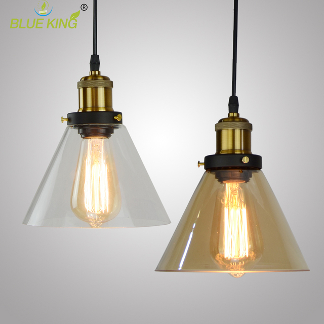 Simple Modern Contemporary Hanging Glass Lantern Pendant Lamp Lights Fixtures E27 E26 For Kitchen Restaurant