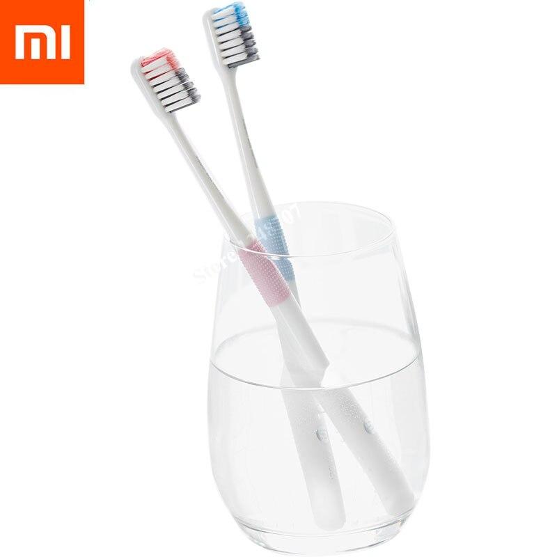 imágenes para 4 Unids 2017 Xiaomi Médico Mijia Método de cepillo de Dientes cepillo de Dientes de Viaje Caja