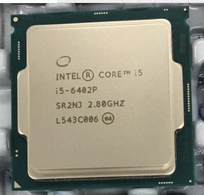 Core i5 6402 P i5-6402P Процессор 2.8 Г четырехъядерных процессоров Настольных scrattered штук
