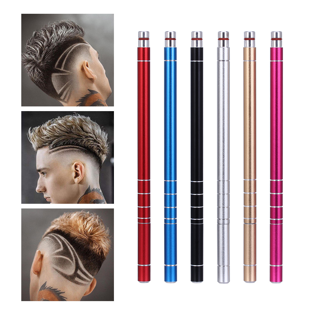 Gen 3 New 1 Hairstyle Engraved Pen + 10 Blades Hair Trimmers Eyebrows Shaving DIY Hairstyle Salon Magic Engraved Barber Scissors