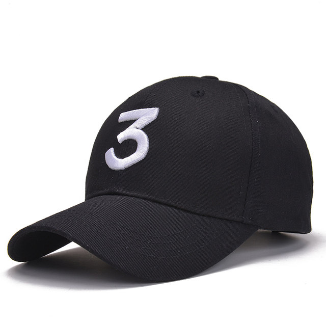Popular Singer Chance The Rapper Chance 3 Cap Black White Drake Dad Bone  Hat Baseball Caps Hip Hop Snapback Gorras Casquette Hat ac31a95f620