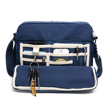 High Quality Canvas Bag Casual Small Messenger Bag Men Multi-functional Male Shoulder Bag Crossbody Bags For Men Satchel 1092-7 стоимость