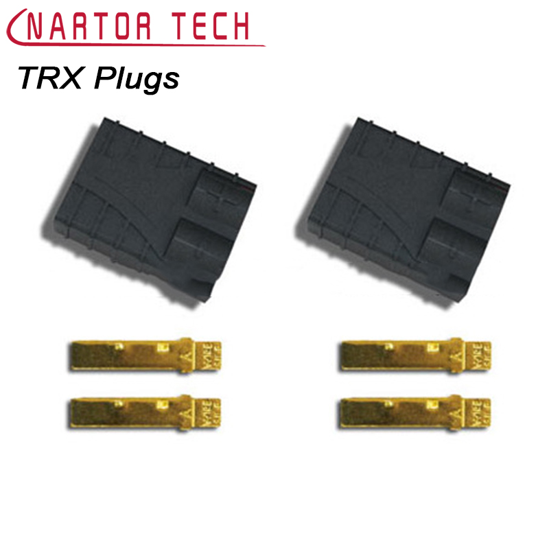 Nartor 5pair/ 10pair Traxxas TRX Plugs Lipo Battery Brushless ESC Battery RC Connector 1s 2s 3s 4s 5s 6s 7s 8s lipo battery balance connector for rc model battery esc