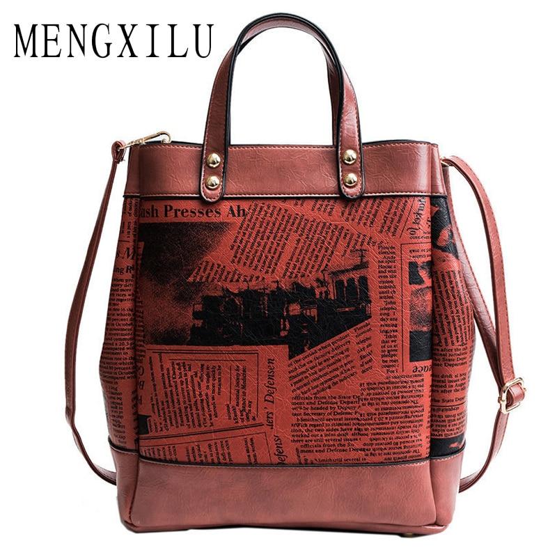 купить Large Capacity Female Vintage Woman Designer Bags Casual Tote Bags Luxury High Quality Shoulder Bag Women Handbag Rivet Bag недорого