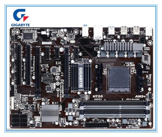 Gigabyte ban đầu Bo mạch chủ GA-970A-DS3P Ổ Cắm AM3/AM3 + DDR3 970A-DS3P ban 32 GB Để Bàn 970 Bo Mạch Chủ Miễn Phí vận chuyển