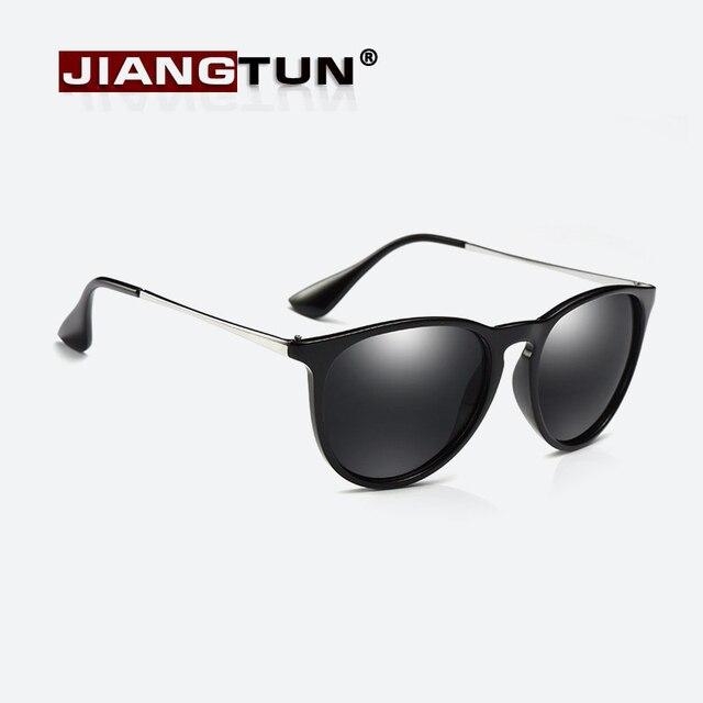 JIANGTUN Óculos De Sol Mulheres Polarizada Óculos de Sol Da Moda Óculos Cat  Eye Oculos de 3bd484182a