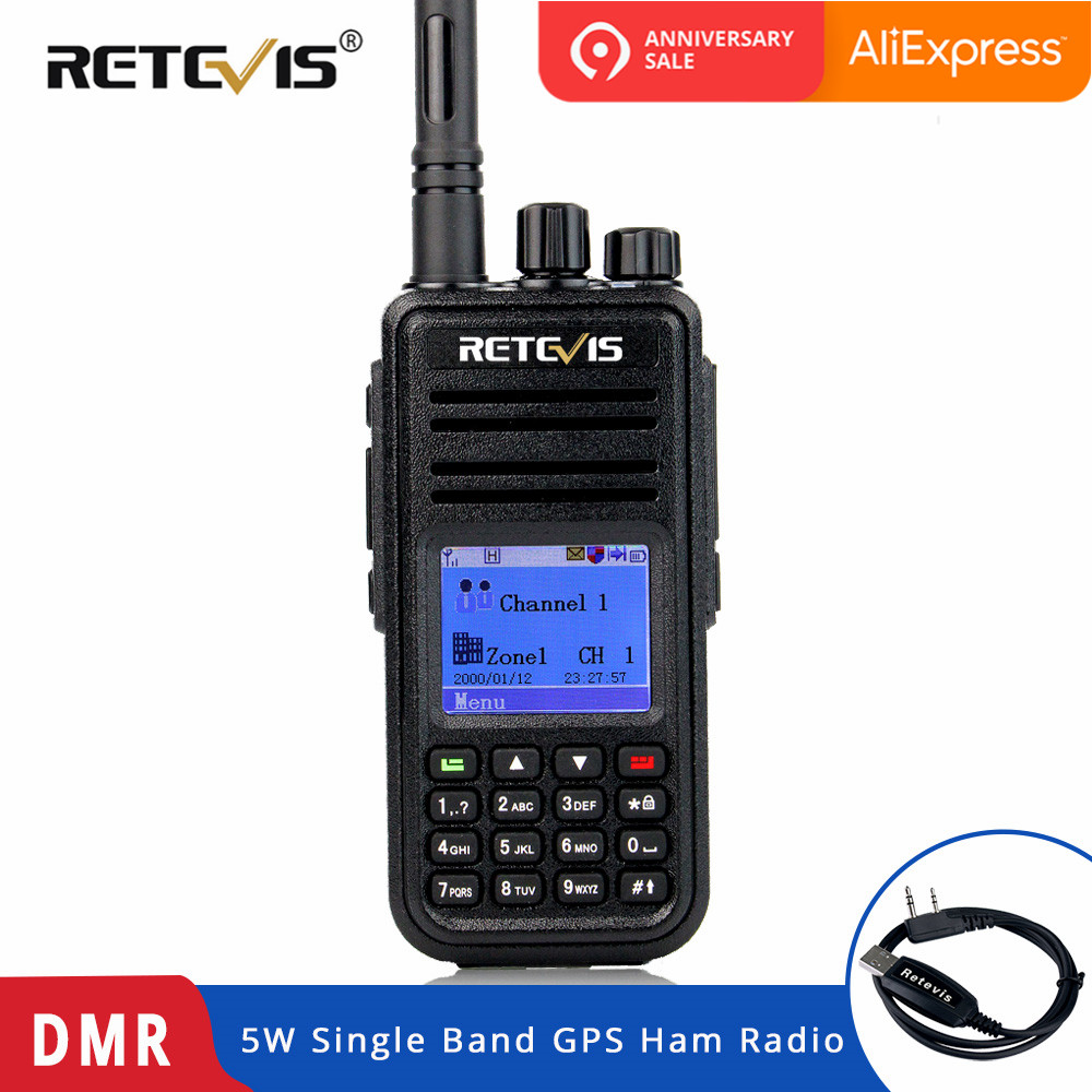 Retevis Rt3 Dmr Digital Radio Gps Walkie Talkie Uhf Or Vhf 5w Rhaliexpress: Ham Radio Gps At Gmaili.net