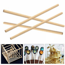 NEW Round Wood Lollipop Lolly Sticks Cake Dowel For DIY Food Craft Model Making(China)