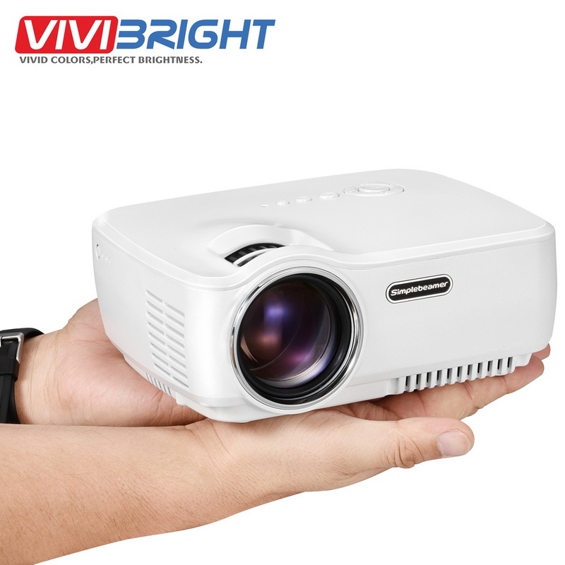 1200Lumens GP70 Mini Projector Portable Proyector LED Beamer Home Theatre 3D Movie Game Video TV With HDMI VGA USB Better UC46