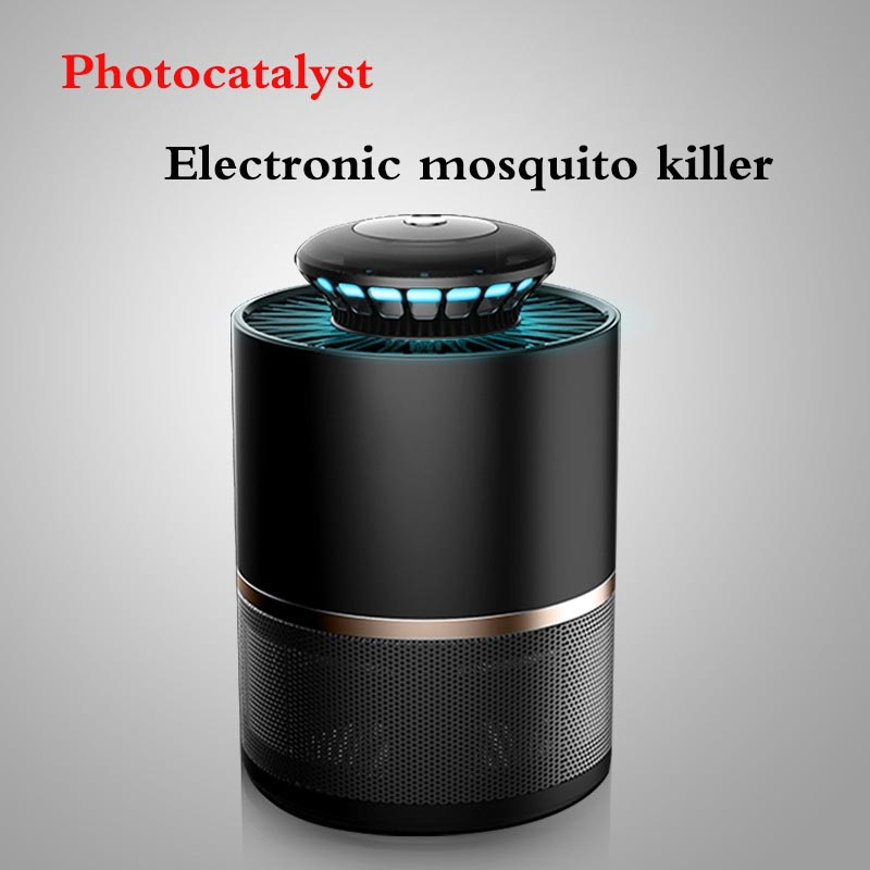 Household, Indoor  Photocatalyst Electronic Mosquito Lamp Silent Intelligent Light Control Radiation-free Mosquito Trap Artifact