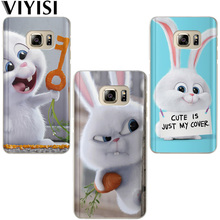 VIYISI Phone case For Samsung Galaxy S8 S9 Plus Case Cover J7 J5 J3 A5 A3 2015 2016 2017 S6 S7Edge Rabbit Animal Dog Coque Shell