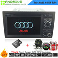 7'' Touch Screen Special AutoRadio Car DVD Player For Audi A4 S4 RS4 2002-2008 With Sat GPS Navigation System Stereo Head Unit