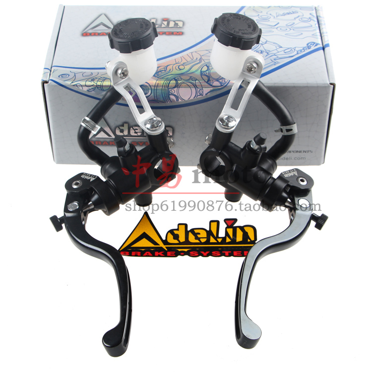 Universal 16mm 17.5mm 19mm Adelin PX1 moto frein d'embrayage pompe maître-cylindre levier poignée Pour Yamaha Kawasaki Suzuki