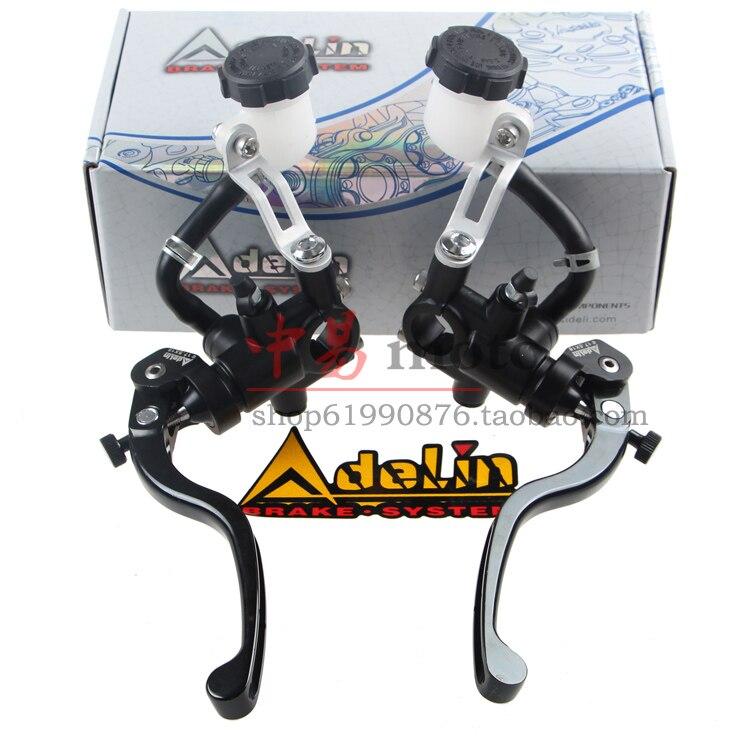 Universale 16mm 17.5mm 19mm Adelin PX1 moto pompa freno frizione cilindro maestro leva maniglia Per Yamaha Kawasaki Suzuki