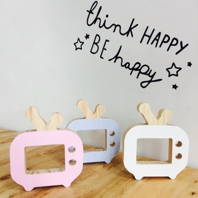 Christmas Kawaii Camera TV Ornaments Creative INS Room Decoration Toys Model Block Desk Chirstmas Gift Collectible Home in Model Building Kits from Toys Hobbies