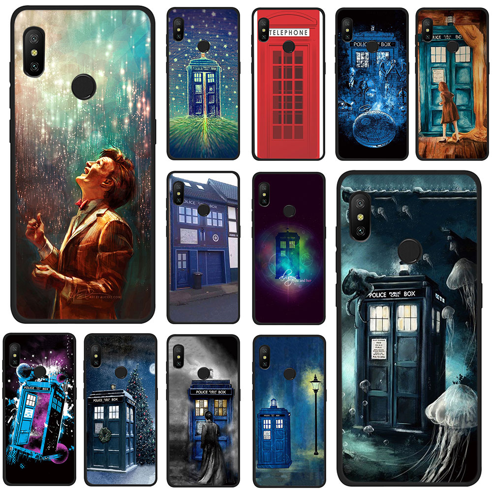 Cellphones & Telecommunications Phone Bags & Cases Honesty Dr Doctor Who Police Call Box Soft Tpu Phone Case For Xiaomi Mi 6 8 9 Se A2 Lite 6 A1/5x A2/6x Max 3 F1 Matching In Colour