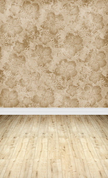 Wedding floral photography backdrops with floor for photo studio 300x600cm vinyl print photographic backgrounds F-1159 2015 new 10ft 16ft photo studio vinyl backgrounds special design white wedding theme backdrops f 1243