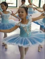 Free Shipping Children Ballet Costumes Kids Ballet Tutu Dancewear Girl Swan Lake Costume Dress