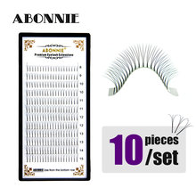 Long Stem Premade fans 3d Lashes Pre made Volume fans Russian Volume Lash Extensions Long Pre fanned Eyelashes Faux Mink