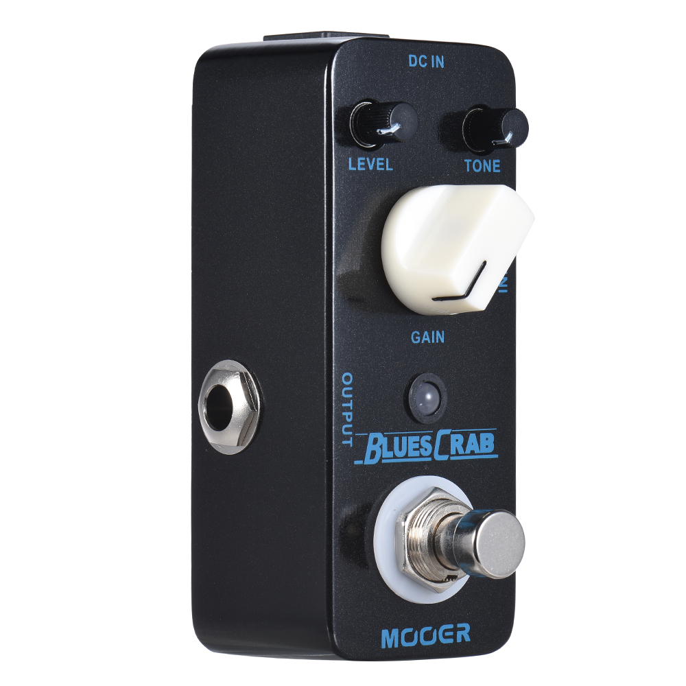 mooer blues crab blues overdrive guitar effect pedal true bypass full metal shell in guitar. Black Bedroom Furniture Sets. Home Design Ideas
