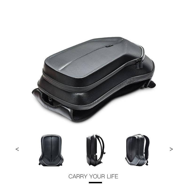 Game Laptop Backpack 17.3 Inch Men Luxury 3D Backpack Portable Office Laptop Bag