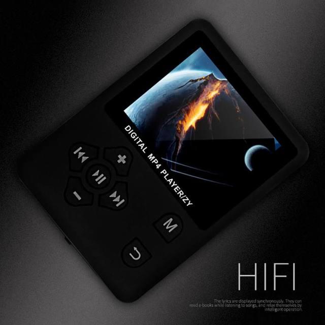 """Màn Hình LCD 1.8 """"MP4 Người Chơi Hỗ Trợ Lên đến 32 GB Thẻ Nhớ TF Xem Ảnh EBook Hifi FM Radio mini USB Mp4 Nghe Nhạc Walkman"""