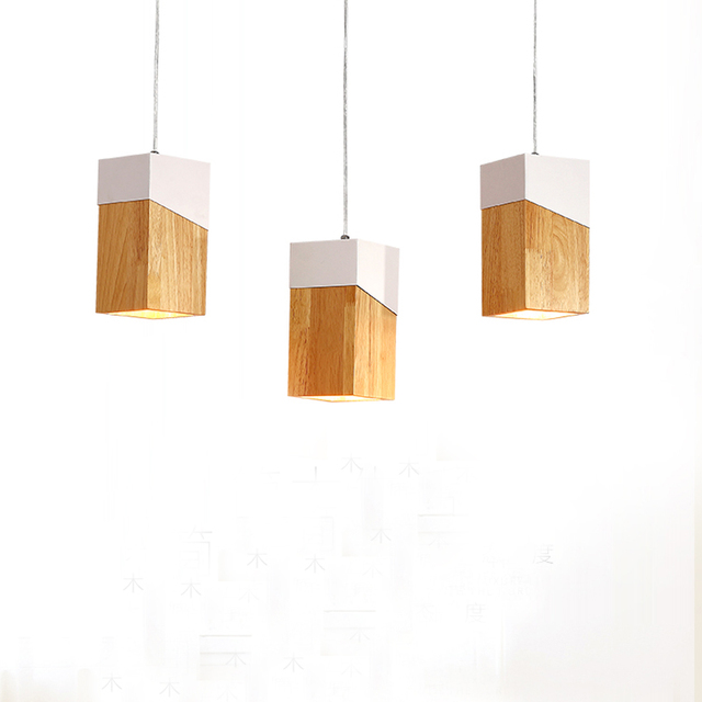 Nordic Wood Pendant Light