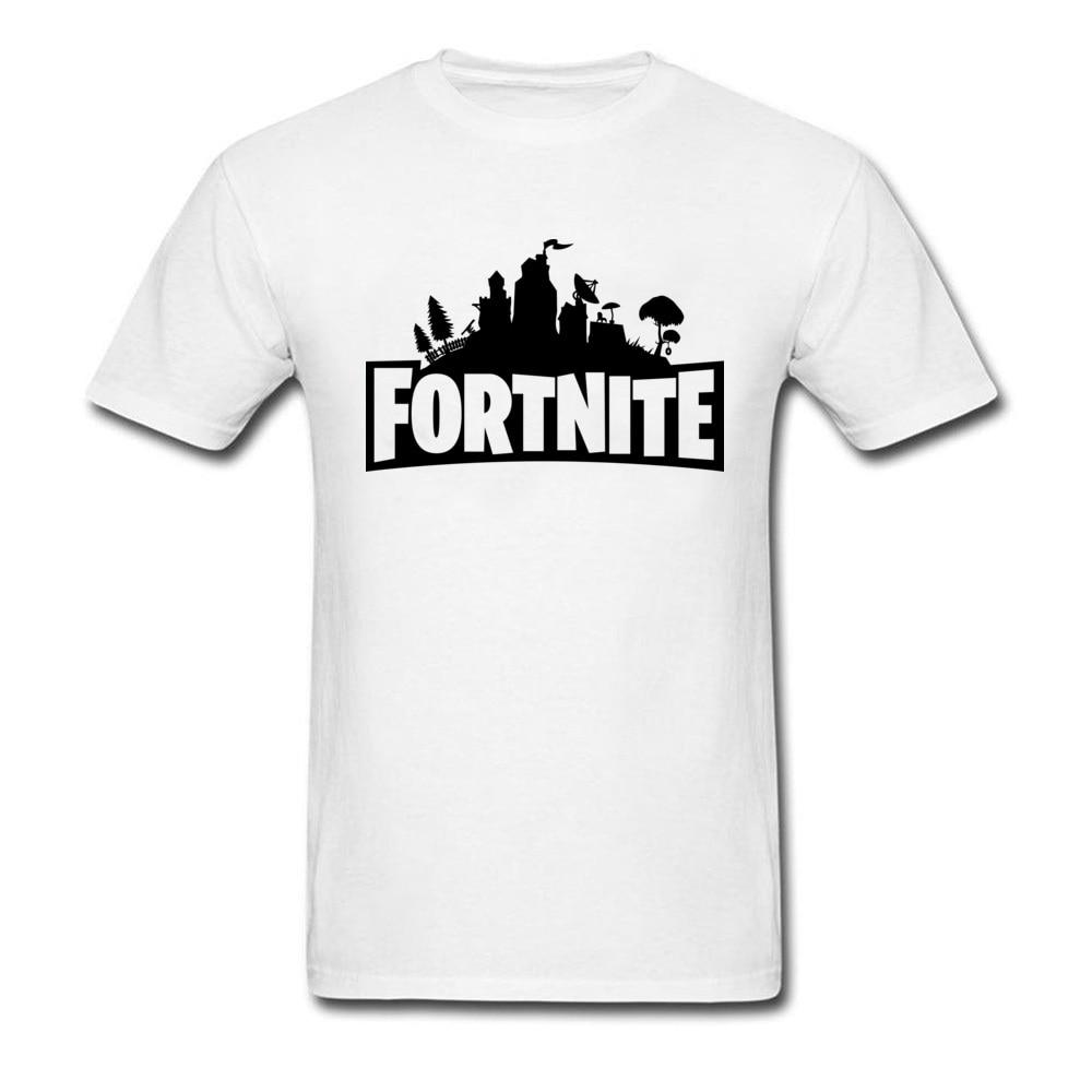 New Brands Mens T Shirt Fortnite Tshirt Plus Size Retro Video Game T-Shirt For School Student High Quality Shirts PC Gamer Tees ...
