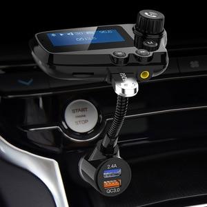 Image 5 - Jajabor Bluetooth 5.0 Xe Bộ Tay Phát FM Aux Thiết Bị Thu Âm Thanh Xe Ô Tô MP3 Người Chơi QC3.0 Sạc Nhanh Màn Hình LCD 1.8 Inch màn Hình Hiển Thị
