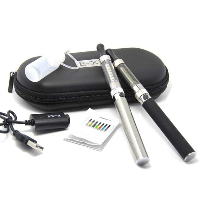 Kits de cigarro eletrônico EGO melhor cigarro e T4 T4 atomizador 2.4 ml EGO EGO - t vaporizador caneta hookah fumar saúde