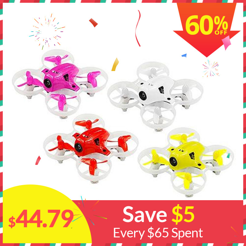 2018 Nouvelle Version KINGKONG/LDARC MINUSCULE 6X65mm Micro FPV Racing Drone Mini RC Quadcopter W/ 716 Brossé Moteurs VS Minuscule 6 7