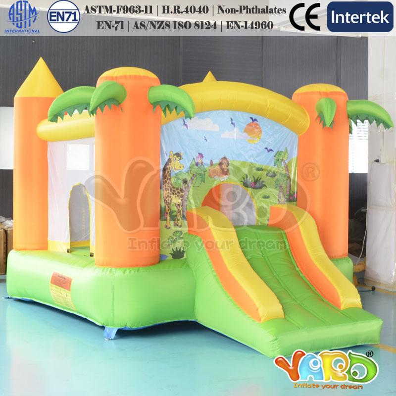 Residential Inflatable bounce house kids gift bouncy castle jumping slide for sale double slides commercial inflatable bouncer bounce house