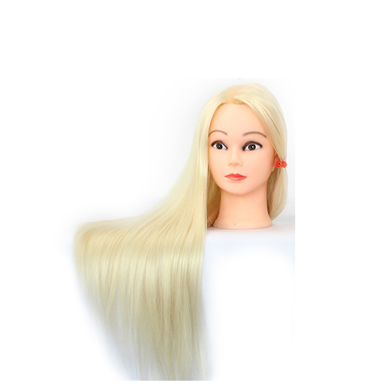 Professional 60cm Hairdressing Dolls Head Female Mannequin Styling