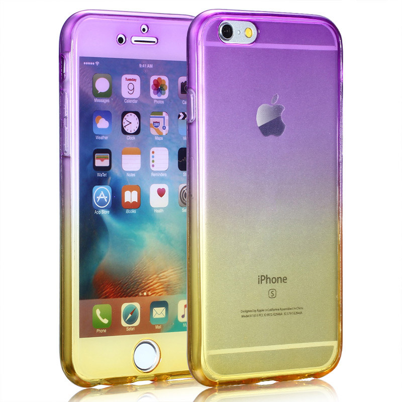 Kasatin Clear full cover silicone case for i6 6s (8)