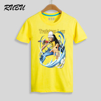 Trafalgar Law Cartoon T Shirt Anime One Piece T-Shirt Men Boy Tshirt Streetwear Tee 7 Colors