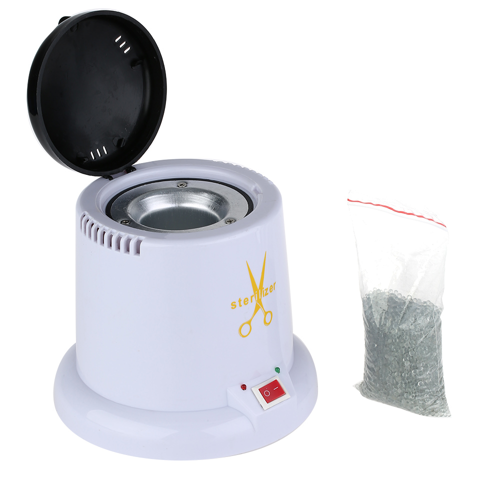 Image 5 - Nail Art Steam Autoclave Scissor Manicure Sterilizer Machine Disinfection Box with 150g Disinfection Tools Glass Bead-in Nail Art Equipment from Beauty & Health