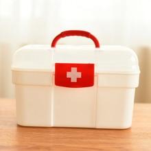 طقم طوارئ كبير للأسرة صندوق طوارئ للأطفال طقم إسعافات أولية محمول طقم أدوات طبية للسفر حقيبة تخزين للرعاية الصحية حقيبة فارغة
