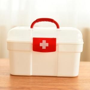 Image 1 - 大家族緊急キット子供緊急ボックスポータブル救急箱旅行医療キットヘルスケア収納袋空の袋