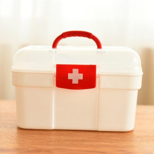 大家族緊急キット子供緊急ボックスポータブル救急箱旅行医療キットヘルスケア収納袋空の袋
