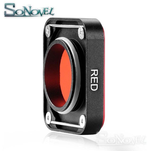 Фильтры для камеры Hero5 Hero6 Hero7, водонепроницаемый фильтр UV CPL Star, Набор цветных фильтров для экшн-Камеры GoPro Hero 5 6 7 Black