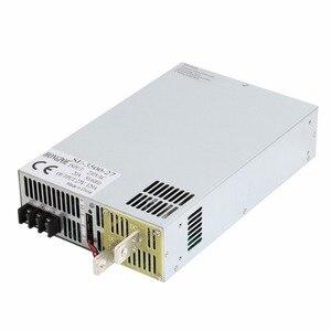 Image 1 - 3500 W 27 V fuente de alimentación 0 27 V potencia ajustable 72VDC AC DC 0 5 V señal analógica control SE 3500 27 transformador de potencia 27 V 129A