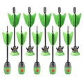 Zing Toys Air 2 Units Extra Arrows Suction Cup Arrows Refills Whistle Arrows Green Orange For Zing Bow Kids Children Outdoor Toy