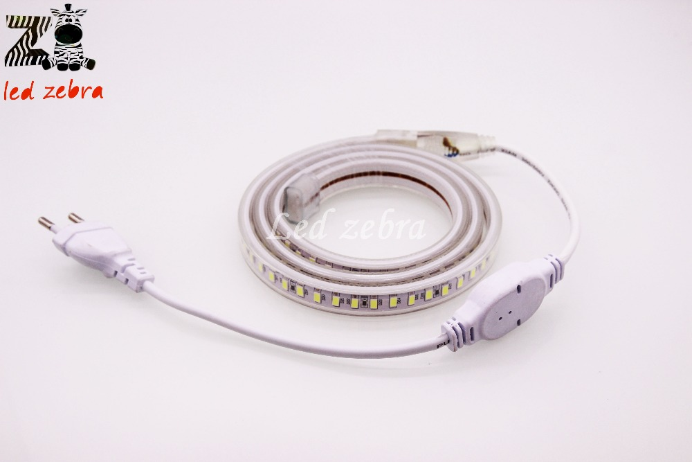 super bright 220v 5730/5630 smd 120led/m led strip light,50m/100m white/warm white waterproof led lamp with plug super slim 45 led 90cm dc12v soft smd light strip white led