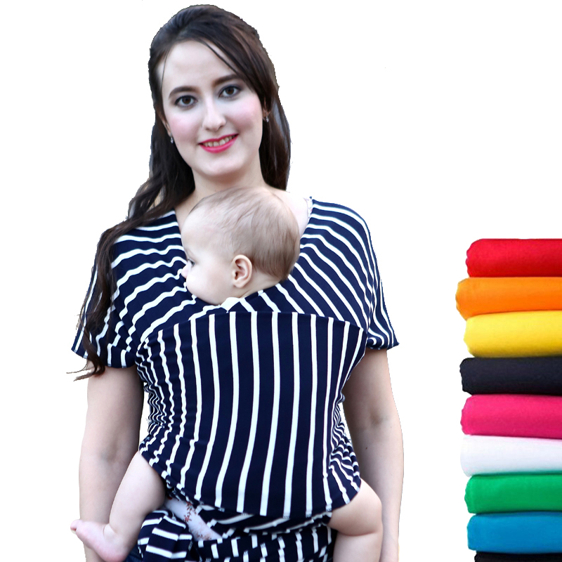 19 Colors Baby Sling Ergonomic Baby Carrier Cover Backpack Breathable Cotton Soft Natural Wrap Hipseat Nursing