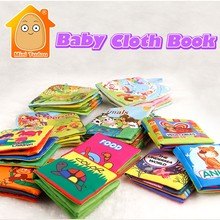Cloth Baby Book Intelligence Development Educational Toy Soft Cloth Learning Cognize Books For 0-12 Months Kids Quiet Book(China)