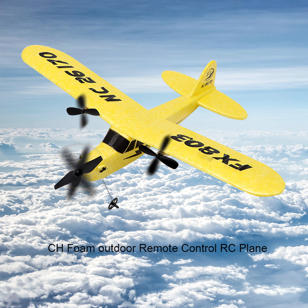 Rc Aircraft Plane Fx803 Epp Foam Rc Glider Drones Outdoor 2.4g Remote Control Interactive Puzzle Toys For Children Birthday Gift