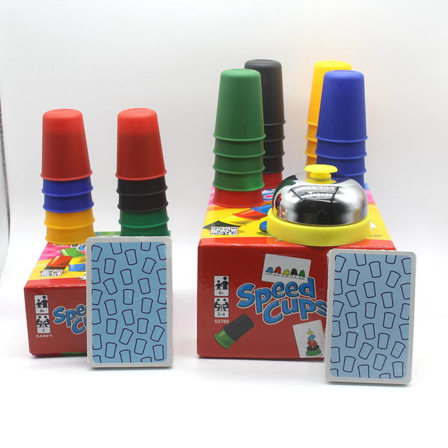 Drop shopping Classic Card Games Speed Cups Cards Game Family And Children Board Games Indoor Games
